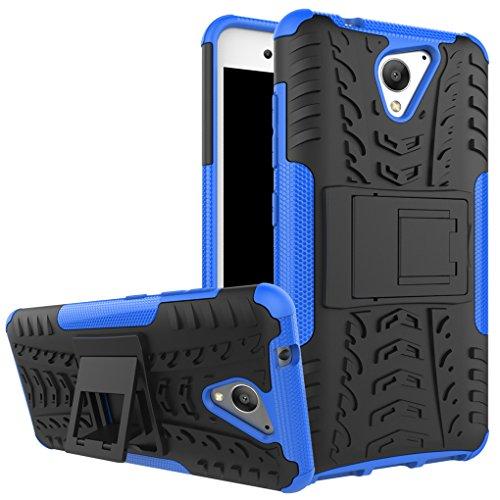 AIBULO® ZTE Blade A510 Hülle TPU Case Schutzhülle Silikon Crystal Case für ZTE Blade A510 (blau)