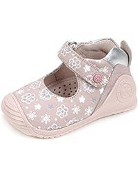 Biomecanics 172134, Bailarinas Bebé-Niña, Varios Colores (Rosa / Estampado Flores), 20 EU