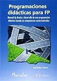 Programaciones didácticas para FP (Ciencia y tecnología)