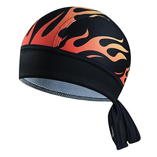 Senmir Unisex Bandana Cap, Quick-Dry Atmungsaktiv Sommermütze Kopftuch Bike Radfahren Kopftuch Pirat Schal Stirnband für Wandern Radfahren Klettern Laufen Fahrrad Reiten Motorrad Helm ()