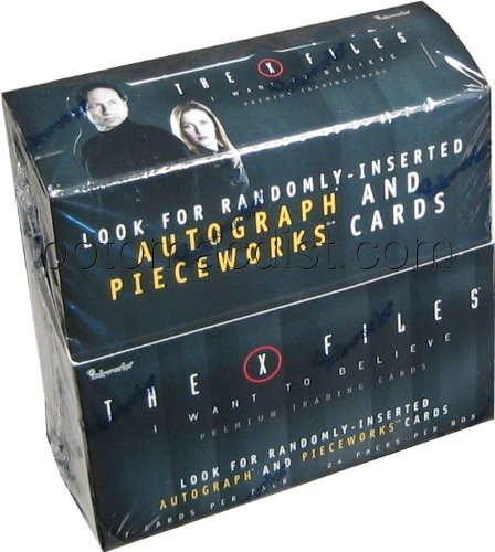 x-files-i-want-to-believe-trading-cards-box-of-24-by-inkworks