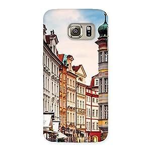 Prague Back Case Cover for Samsung Galaxy S6 Edge