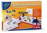 Galonska Hörbox 1: Lernspiele zur Förderung der Hörverarbeitung und der phonologischen Bewusstheit