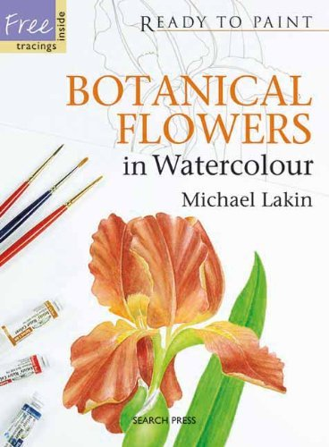 Botanical Flowers in Watercolour (Ready to Paint) by Michael Lakin (2010-04-20)