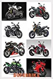 SUPERBIKES , SPORTBIKES COLLECTION RIESEN Poster, A1, ca. 58 x 87 cm