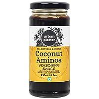 Urban Platter Coconut Aminos, 250ml [All Natural & Vegan, Seasoning Sauce, MSG Free, Soy-Sauce Alternative]