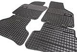 Gummimatten Set Comfort-Line Gummi Fußmatten Allwetter Leicht zu reinigen Verstärkung im Pedalbereich