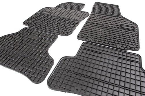 Preisvergleich Produktbild Gummimatten Set Comfort-Line Gummi Fußmatten Allwetter Leicht zu reinigen Verstärkung im Pedalbereich
