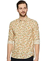 Flying Machine Men's Starred Regular fit Casual Shirt