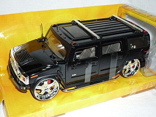 hummer-h2-h-2-suv-tuning-schwarz-1-24-jada-modellauto-modell-auto