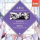 Haydn: Streichquartette Op. 77, Berio: Notturno