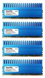 Komputerbay 16Go (4x 4Go) 240 PIN DIMM DDR2 800 MHz Mémoire Module PC2-6400/PC2-6300 couronne