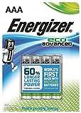 Energizer LR03 AAA Micro Eco Advanced-(Confezione da 4)