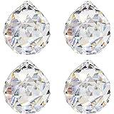 Bolas de cristal (Diámetro 20Mm 4unidades de 30% hochbleikristall arco iris Cristal Cristal Bolas para colgar Ventana Decoración Feng Shui Cristal