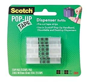 SCOTCH TAPE STRIP REFILL 90ST