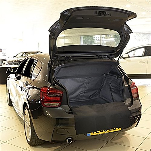 Black Heavy Duty Rubber Boot Mat Liner for BMW Mini Coupe 11 Onwards