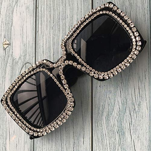 lasses Square Shape Sun Glasses UV400 Vision Lens Eyeglass ()