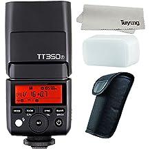 Godox Mini TT350F 2.4G HSS 1/8000s TTL GN36 Camera Flash Speedlite for Fuji Cameras X-Pro2,X-T20,X-T2,X-T1,X-Pro1,X-T10,X-E1,X-A3,X100F,X100T