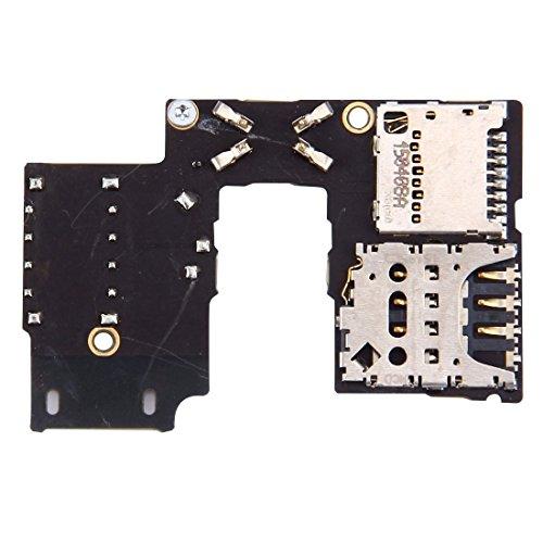 Cellphone Replacement Parts Handy-Ersatzteile IPartsBuy für Motorola Moto G (3rd Gen.) (Single SIM Version) SIM Card Socket + SD Card Sockel Ersatzteile