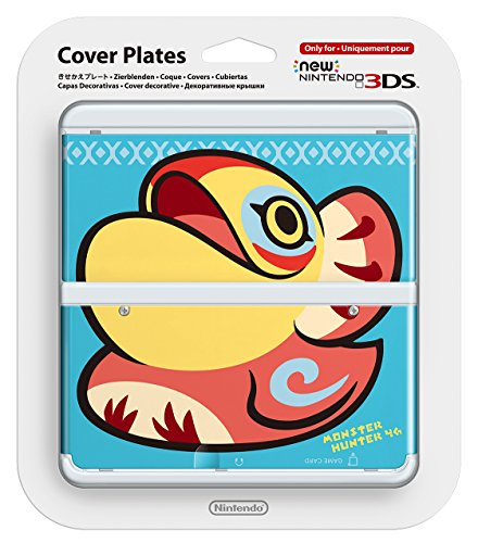 New Nintendo 3ds Cover Plates No.037 (monster hunter 4G) [Nintendo 3DS] (Pokemon 3ds Xl Cover)