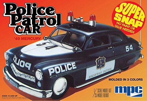 1/25 1949 Mercury Police Car (japan import)