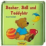 Becher, Ball und Teddybär