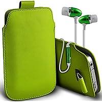 Fone-Case (Verde) Alcatel Dawn 4G alta qualità in pelle PU