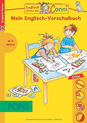 Preisvergleich Produktbild PONS Englisch lernen mit Conni: Mein Englisch-Vorschulbuch