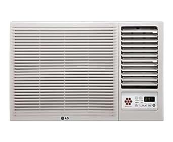 LG LWA5CT3A L-Crescent Terminator Window AC (1.5 Ton, 3 Star Rating, White, Copper)