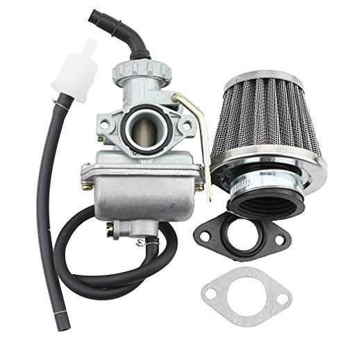 GOOFIT PZ1616mm Vergaser mit 35mm Air Filter für 50cc 70cc 90cc Horizontal Motor Dirtbike ATV Go-Kart (Motor Cc 70)