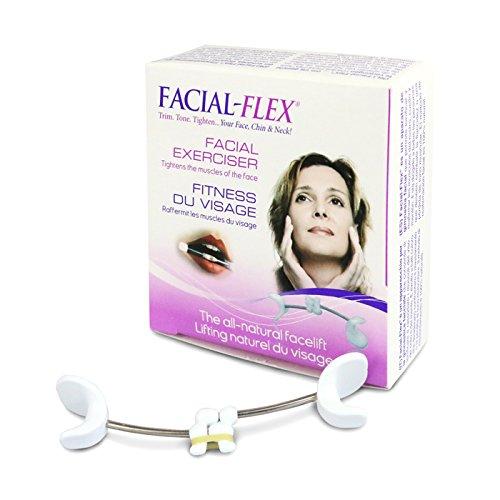 Facial-Flex Lifting Naturale per il Viso (Packagin 2018) Venduto con Elastici N.1 e N.2