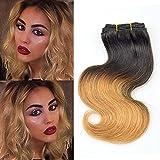 Best Grade Of Human Hair Weave - Barroko Hair T1B/27# : New Barroko Sew In Review