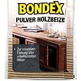 Bondex Holzbeize Pulverbeize Beutelbeize Beize auf Wasserbasis für Möbel 5er Pack - schwarz