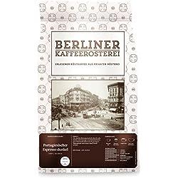 Berliner Kaffeerösterei Portugiesischer Espresso Dunkel 1000g, ganze Bohne, 1er Pack (1 x 1 kg)