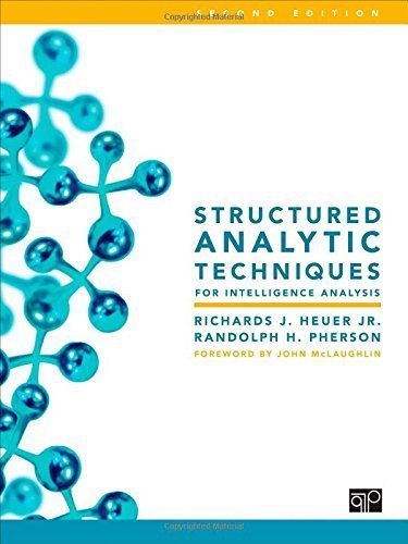 Structured Analytic Techniques for Intelligence Analysis by Heuer Jr., Richards J., Pherson, Randolph H. (2014) Spiral-bound