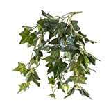 Künstliche Efeubuschranke, 70 grüne Blätter, 50cm - Efeu künstlich / Künstliche Ranke - artplants