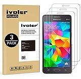 iVoler [Pack de 3] Verre Trempé Compatible avec Samsung Galaxy Grand Prime G530,...