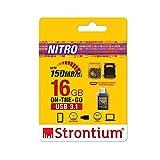 Strontium Nitro 16Gb One OTG 3.1 150 MBPS (Grey)