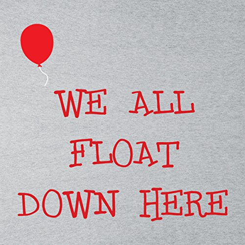 We All Float Down Here Pennywise IT Women's Vest Heather Grey