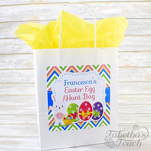 personalised-kids-easter-egg-hunt-gift-party-treat-bag-and-tissue-paper