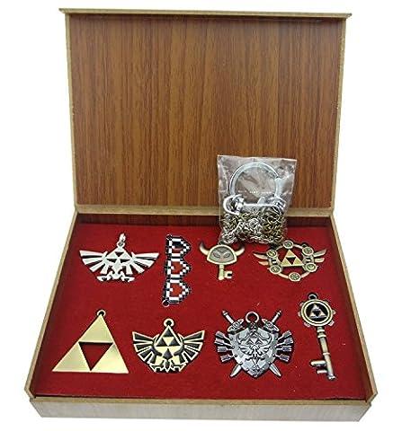 Legend of ZELDA Necklace Pendant keychain Arsenal Set Box Collection