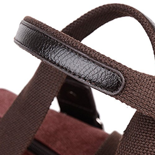 Leinwand Damen Mode Freizeit Vielseitig Umwelt- All-Spiel Handtasche Einzelne Schulterbeutel Black