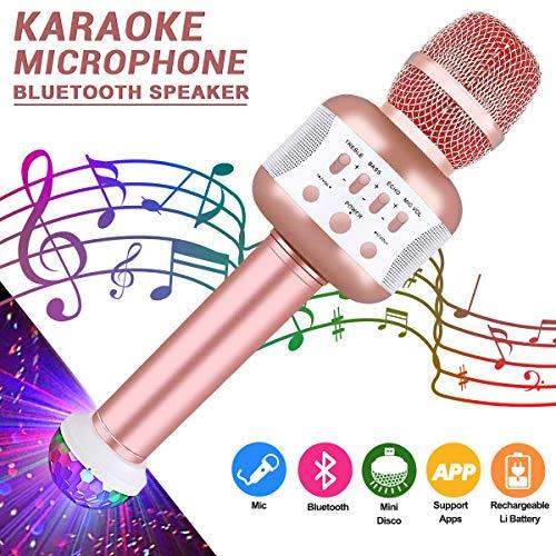 Bluetooth Karaoke Mikrofon Mikrofon Minibild