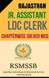 #7: RSMSSB Junior Assistant and Clerk Chapterwise and Topicwise Solved Book: Important book for RSMSSB Junior Assistant and Clerk/Rajasthan Police/RPSC/RSSC. (Hindi Edition)