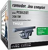 Rameder Pack Barres de Toit SquareBar pour Peugeot 308 SW I (115961-07376-135-FR)