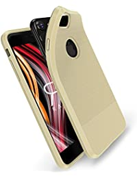 Funda iPhone 6S,Funda iPhone 6,Radoo Ultra Thin [Anti-caída] [Antideslizante] [Anti-Arañazos] Carcasa Fibra De Carbono Funda protectora Silicona de silicona suave para Apple iPhone 6S / iPhone 6 4,7 pulgadas (Oro)