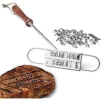 Ailiebhaus BBQ Branding Hierro Barbeque Grill Strumento Lettere Accessorio