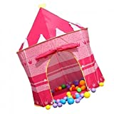 #9: Generic 57000370MG Playhouse Princess Tent Castle - Pink