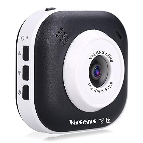 diewu 360 ° Weitwinkel, Full HD720P Auto-Dash Recorder Kamera Kamera Camcorder mit Bewegungserkennung, Loop-Aufnahme