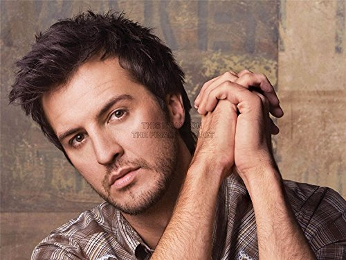 MUSIC LUKE BRYAN AMERICAN POP COUNTRY SINGER PORTRAIT CLOSE UP 18X24''  PLAKAT POSTER ART PRINT LV10381